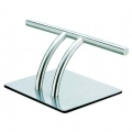 w-Footrest Chrome (double bar)